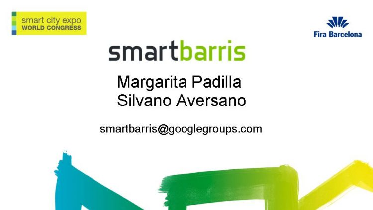 Vídeo: El grup SmartBarris al Smart City World Expo 2016 (cat-ang)